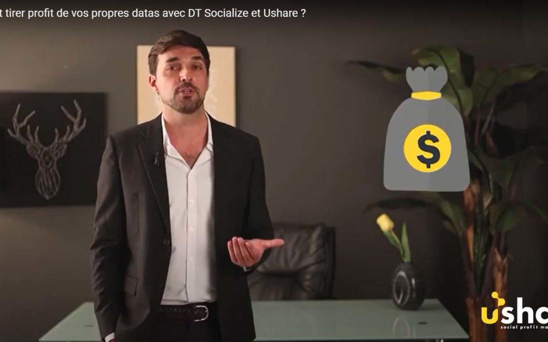 Comment tirer profit de vos propres datas avec DT Socialize et Ushare ?